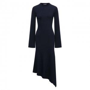 Платье Kenzo. Цвет: синий