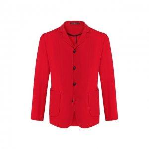 Пиджак Giorgio Armani. Цвет: красный