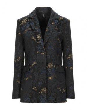 Пиджак 1-ONE. Цвет: черный