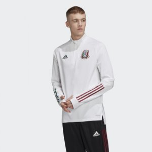 Олимпийка-кардиган FMF TRG TOP Performance adidas. Цвет: белый