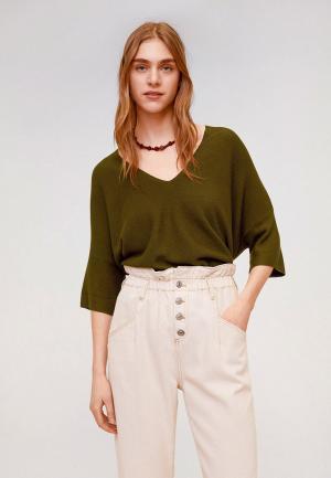 Пуловер Mango - INES. Цвет: хаки