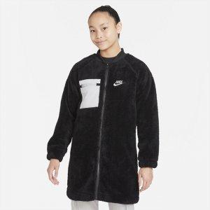 Зимняя куртка для девочек школьного возраста Sportswear - Черный Nike
