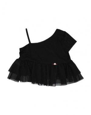 Блузка LOREDANA. Цвет: черный