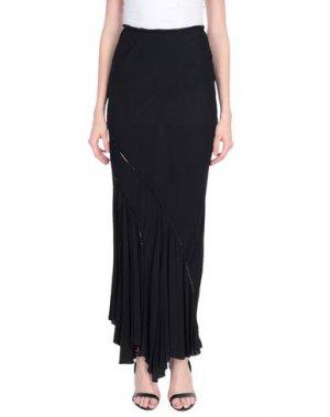 Длинная юбка CELYN B.. Цвет: черный