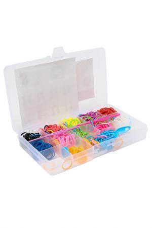 Набор для плетения браслетов Diva. Цвет: мультиколор