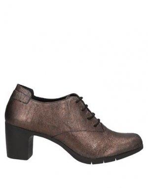 Обувь на шнурках KHRIO'. Цвет: бронзовый