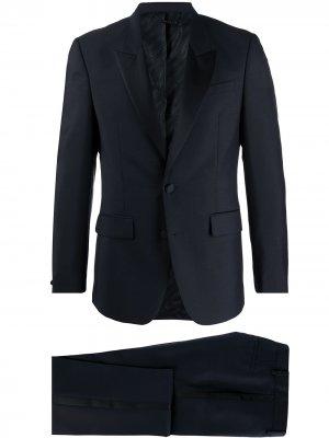 Смокинг узкого кроя Givenchy. Цвет: синий