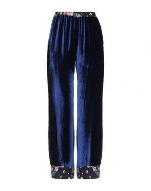 Повседневные брюки MILA ZB. Цвет: темно-синий