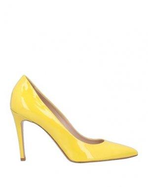 Туфли KATE. Цвет: желтый