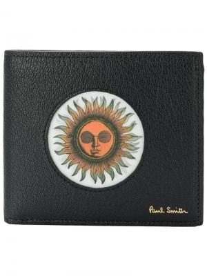 Кошелек Sun Paul Smith. Цвет: чёрный