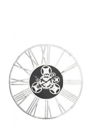 Часы настенные Gear Kare. Цвет: серебряный