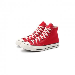 Текстильные кеды Chuck 72 Converse. Цвет: красный
