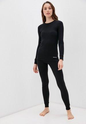 Комплект термобелья Montero Cotton Comfort. Цвет: черный