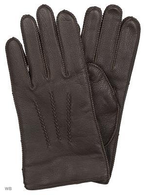 Перчатки Mascotte. Цвет: коричневый
