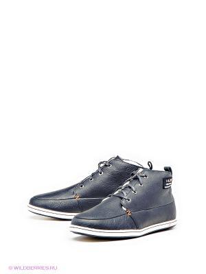 Ботинки HUB. Цвет: серый