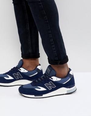Темно-синие кроссовки 840 ML840AG New Balance. Цвет: темно-синий