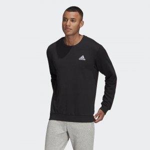 Свитшот Essentials Small Logo Sport Inspired adidas. Цвет: черный