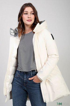 Куртка Bomboogie. Цвет: белый