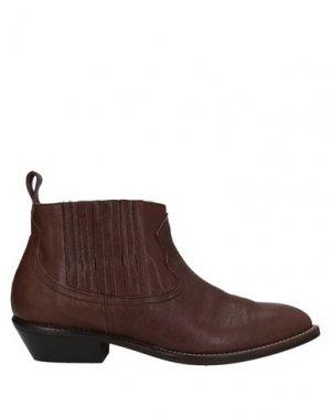 Полусапоги и высокие ботинки ÂME. Цвет: хаки