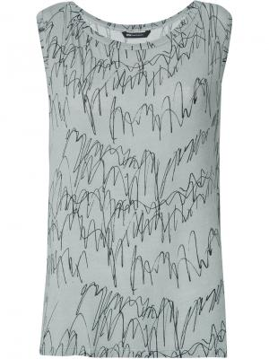Printed blouse Uma   Raquel Davidowicz. Цвет: серый