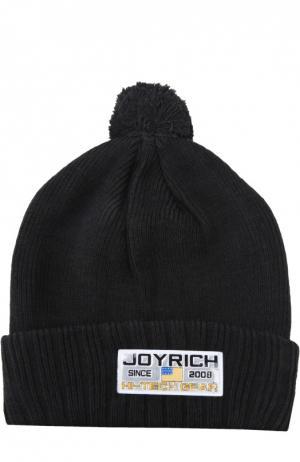 Шапка Joyrich. Цвет: черный