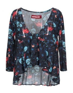Блузка GUARDAROBA by ANIYE. Цвет: темно-синий