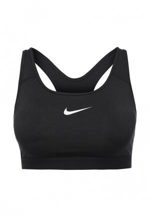 Топ спортивный Nike Womens Classic Padded Sports Bra. Цвет: черный