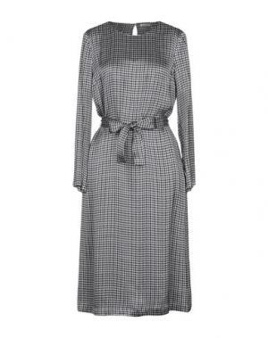 Платье длиной 3/4 CAPPELLINI by PESERICO. Цвет: синий