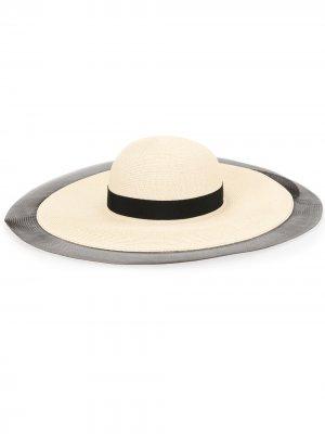 Шляпа Sunny с широкими полями Eugenia Kim. Цвет: нейтральные цвета
