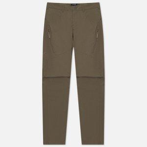 Мужские брюки Stowe Arcteryx. Цвет: оливковый
