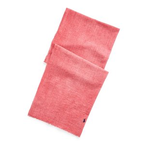 Шарф La Redoute. Цвет: красный