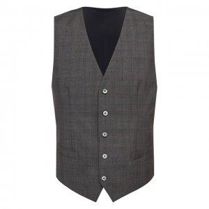 Шерстяной жилет Dolce & Gabbana. Цвет: коричневый
