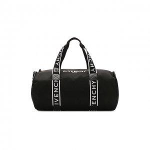 Текстильная спортивная сумка Givenchy. Цвет: чёрный