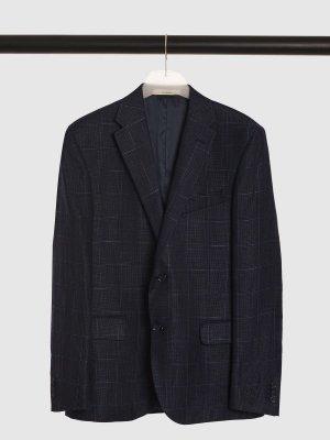 Костюмный пиджак CC CORNELIANI. Цвет: синий