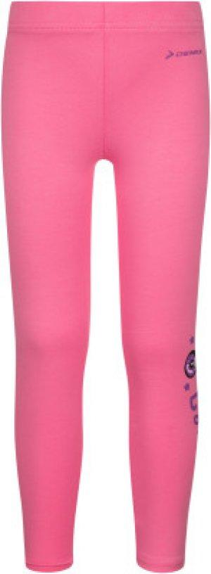 Легинсы для девочек , размер 122 Demix. Цвет: розовый