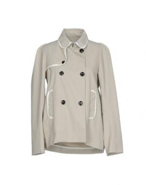 Легкое пальто MAURO GRIFONI. Цвет: бежевый