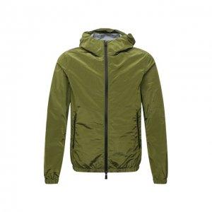 Куртка Herno. Цвет: зелёный