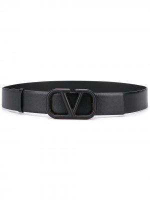 Ремень с логотипом VLogo Valentino Garavani. Цвет: черный