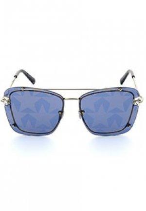 Солнцезащитные очки JIMMY CHOO. Цвет: синий