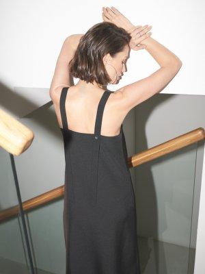 Платье Margaret с длинными лямками GATE31. Цвет: черный