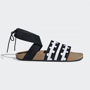 Сандалии Adilette Ankle Wrap Originals adidas. Цвет: черный