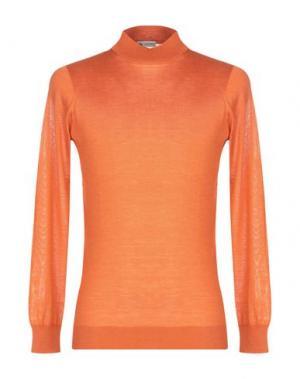 Водолазки COLOMBO. Цвет: оранжевый