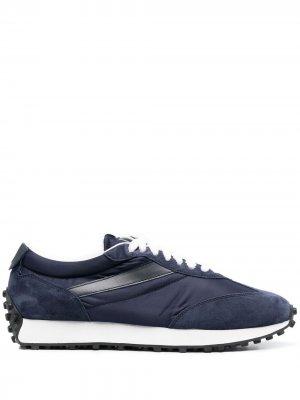 Doucals кроссовки со вставками Doucal's. Цвет: синий