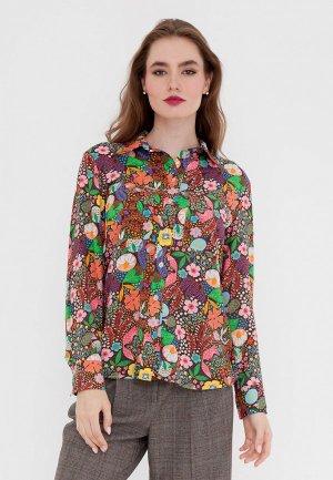 Блуза Gregory. Цвет: разноцветный