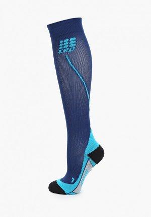 Компрессионные гольфы CEP Compression Knee Socks C12. Цвет: синий
