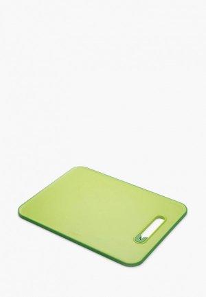 Доска разделочная Joseph с ножеточкой, Slice & Sharpen. Цвет: зеленый