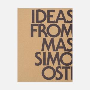 Книга Ideas From Massimo Osti Corraini Edizioni. Цвет: бежевый