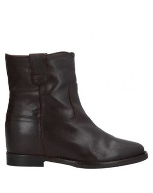 Полусапоги и высокие ботинки J|D JULIE DEE. Цвет: темно-коричневый