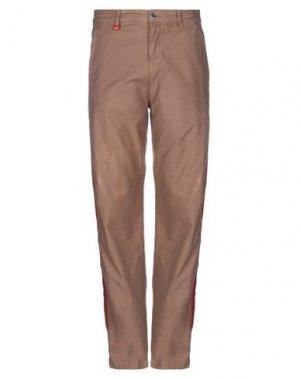 Повседневные брюки FRANKLIN & MARSHALL. Цвет: голубиный серый
