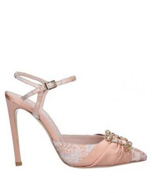 Туфли GIANCARLO PAOLI. Цвет: пастельно-розовый